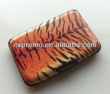 NEW Printed Aluminium Card Holder /RFID Blocking Case tiger