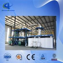 Waste engine oil/plastic oil distillation equipment to diesel and gasoline