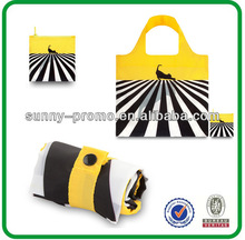 Foldable tote bag with customized logo