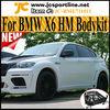 X6 Series FiberGlass HM Style Wide Body Kit For BMW X6 E71 09~13