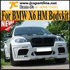 X6 Series HM Wide Style FiberGlass SUV Car BodyKit For BMW X6 E71 09~13