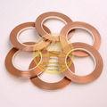 Alta calidad lámina de cobre para la lámpara de tiffany, lámina de cobre para el vidrio de color del panel