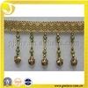 lampshade fringe with acrylic beads