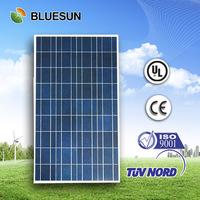 Bluesun top quality poly 100w solar panel free shipping