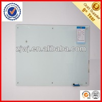 4mm crystal glass writing board for office design