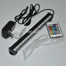 SMD5050 glass tube waterproof led aquarium light bar