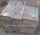 High Cr Cast Iron Jaw Plates