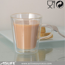 WITH HANDLE/HOLDER! fancy bulk glass coffee/beer/tea cups and mugs