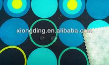 printing polyester spandex fabric with printing TPU laminated