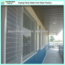Excellent visibility Vandal resistant Decorative window security bars/fencing(samples can available )China supplier Fansi