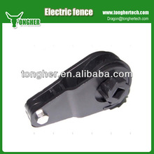 High tensile heavy duty electric fence ratchet tensioner for farm fence