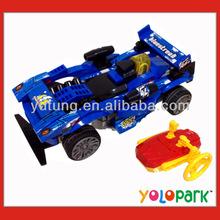 DIY 4 Channels RC Racing Car Building Blocks Racing Car Model for Boys