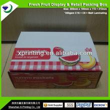 Display Cardbard Apple Carton Boxes