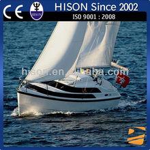 Hison 26ft Sailboat fishing boat China manufactures