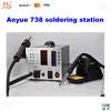 AOYUE 738 SMD Rework Station 220V, Hot Air Gun / Soldering Iron SMD Solder Station AOYUE738 Welding equipment