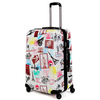 Factory Price butterfly print ABS/PC Luggage