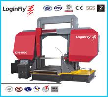 800mm Heavy Duty High Quality Semi Automatic Band Saw Steel Bar Cutting Machine