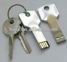 Promotional usb flash drive key,Free logo printed USB key flash drive