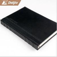 PU leather hard cover agenda