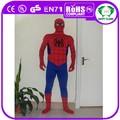 hola 2015 venta caliente spiderman negro de disfraces para adultos
