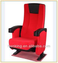 cushion cinema chair/cinema room seating/high back 3d cinema chair WH273