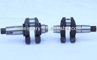 Agriculture single cylinder four stroke water cooled diesel engine spare parts crankshaft