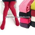 nova outono inverno atacado doces cor barra vertical desossada princesa elegante quente crianças meias de algodão