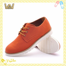 fashion man lace up flat causla shoe
