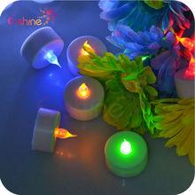 Free Sample Flashing Colorful Rainbow Led Candle