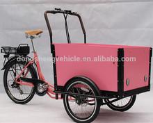 family three wheeler electric cargo trike