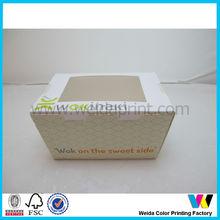 Disposable Wholesaler Chinese Food Paper Box/Fast Food Box in Dongguan