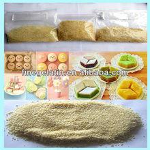 edible gelatin powder price/halal food gelatin plant