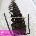 Chinês cabelo humano atacado rabos de cavalo e máquina feita de cabelo brasileira encerramento( ym- w- 159)