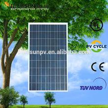 TUV UL ISO CE 100w price per watt solar panels