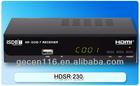 HD ISDB-T Set top box FTA tv box / Satellite receiver Model HDTR 230