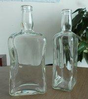 Home decor glass bottle