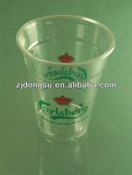 new fashion plastic cup,clear and transparent,colored plastic disposable cups