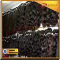 Con estilo precio de fábrica del cuerpo brasileño de onda del pelo, 100% virgen del pelo humano extensiones
