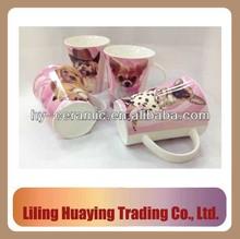 ceramic mug printing dogs