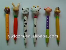 eco-friendly cheap bulk colored ballpoint pen