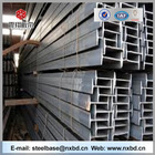 hot-rolled mild black high quality construction material i beam