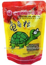 Turtle feed packing pouch/Plastic animal food packing bag/Animal food pouch
