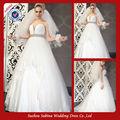puffy em0165 sweetheart décolleté robe de bal robe de mariée de haute qualité pour femmes voilées robes de mariée mariage