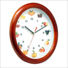 wooden kitchen wall clock modern design flip clock