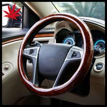 wood car steering wheels/ Steering Wheel Cover Wood