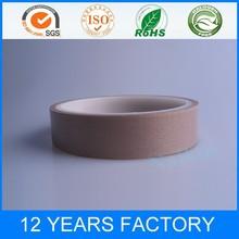 Single Sided Teflon Coated Glass Cloth Silicone Adhesive PTFE Tape