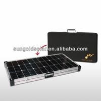 100% TUV Standard folding 150w circular solar panel