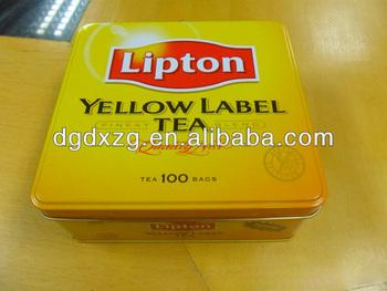 Printed Tea Tin Box