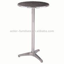 Popular outdoor high top bar tables
