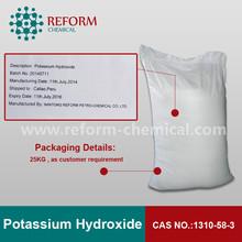 91.70% Potassium hydroxide cas no.1310-58-3